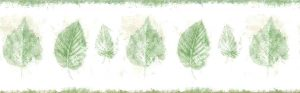 green leaf vintage wallpaper, cream, beige, nature, kitchen, vintage