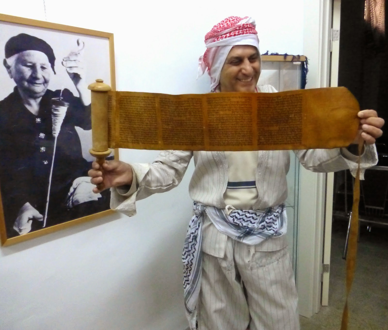 Cultural Heritage: Kurdish Man in Traditional Clothing