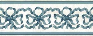 Blue Ribbon Vintage Wallpaper Border by Waverly