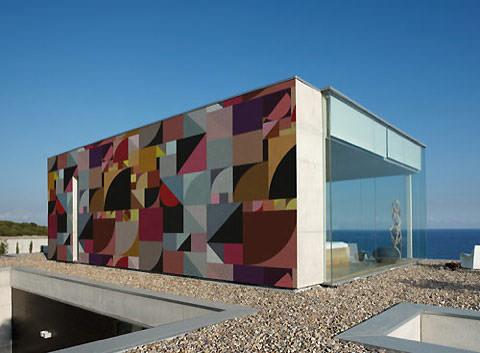 outdoor wallpaper, exterior, geometric