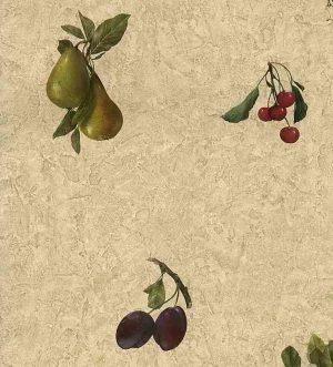 cherries vintage wallpaper grapes pears