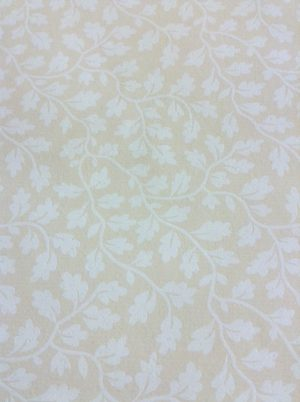 white leaves vines,beige,wallpaper,Antonina Vella