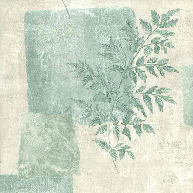 green leaf vintage wallpaper, cream, geometric, rectangle, nature, bedroom, sun room