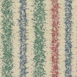 Textured stripes vintage wallpaper, red, blue, green, beige, textured, glazed