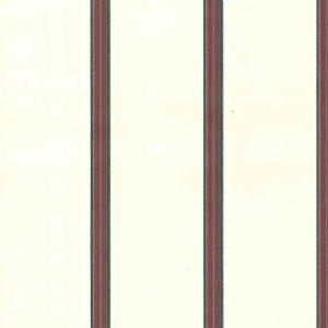 Red Striped wallpaper, green, blue, cream