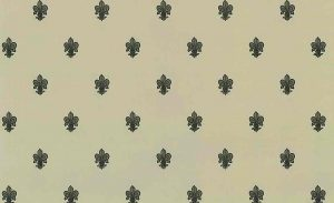 fleur-de-lys vintage wallpaper, gray, black, taupe, french, diming room, study, entrance way