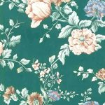 cottage style wallpaper cleveland ohio, green, vintage