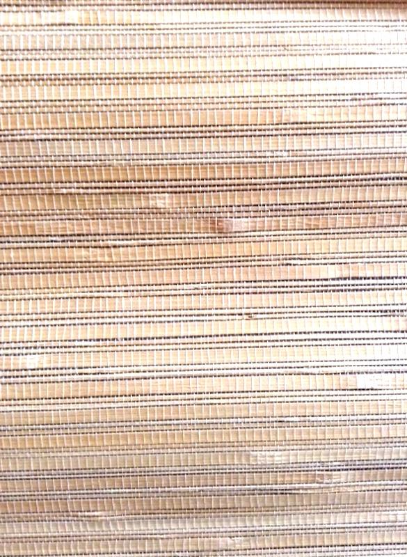 beige black natural grasscloth wallpaper, Seabrook, natural, textured