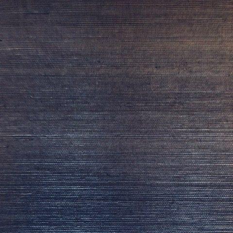 VG4405MH Navy Grasscloth wallpaper, natural, Magnolia Home, inen-like, living room, dining room, study, bedroom, foyer, Sample