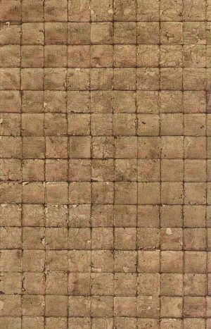 wallpaper-brown-check, squares, tiles, faux finish