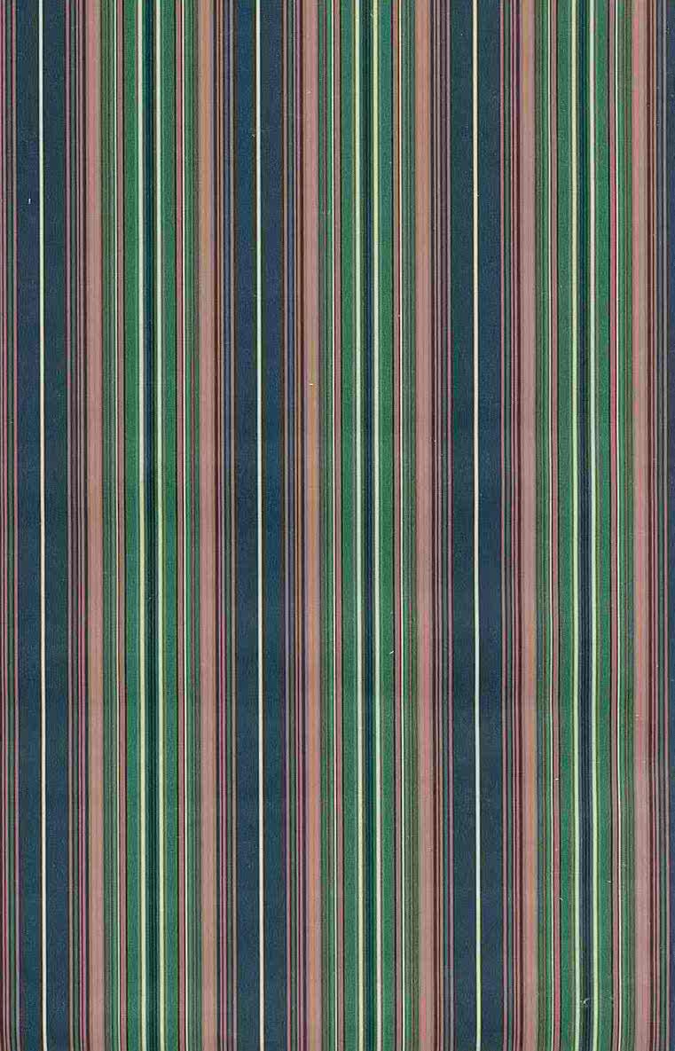 Stripes vintage wallpaper-blue-pink, green