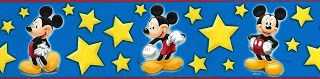 Mickey Mouse Wallpaper Border by Disney