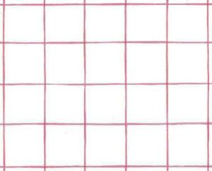 Windowpane Vintage Wallpaper Pattern in Pink & White